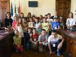 I bambini di Sant'Antonio incontrano il sindaco in Municipio