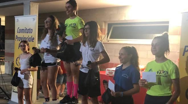 Vo2 TeamPink premiazione a Fognano