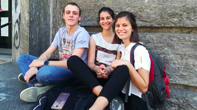 Vittorio Silvani, Francesca Lanza e Iriam Maestri (Liceo Gioia)