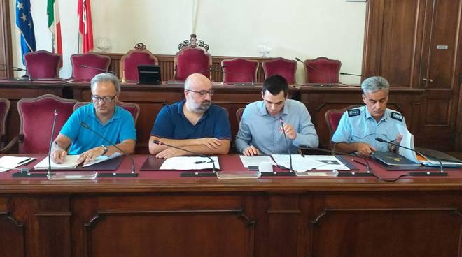 Commissione consiliare con Zandonella