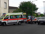 I soccorsi sull'incidente a Niviano