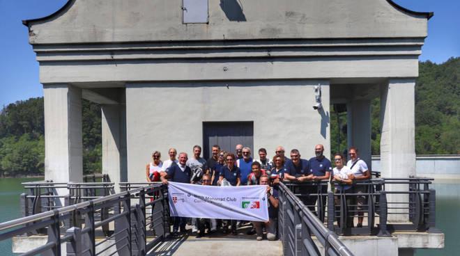 Il Bmw Club in visita alla Diga del Molato