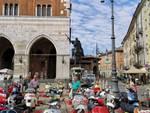 Il raduno delle Vespe a Piacenza