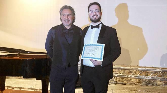 Il vincitore Giuseppe Toia