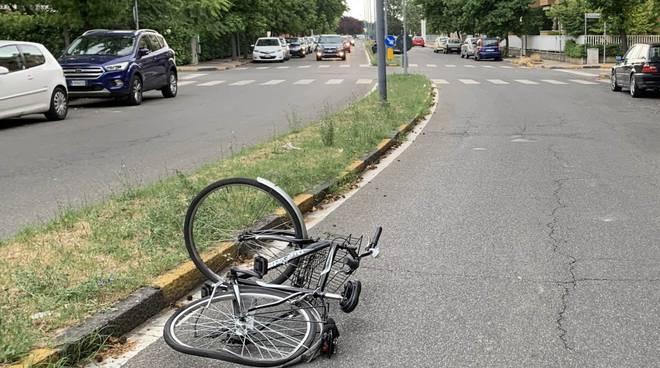 incidente bici Besurica