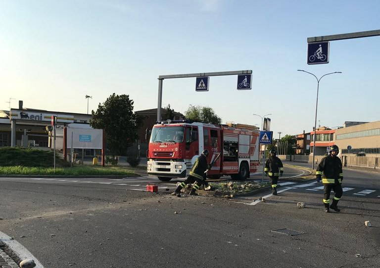incidente Piacenza Ovest