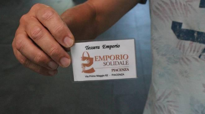 L'emporio solidale di Piacenza