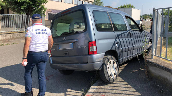 L'incidente a Gariga di Podenzano