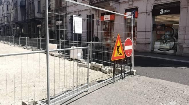 lavori via Cavour