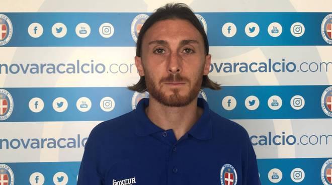 Luca Cattaneo (Foto da www.novaracalcio.com)