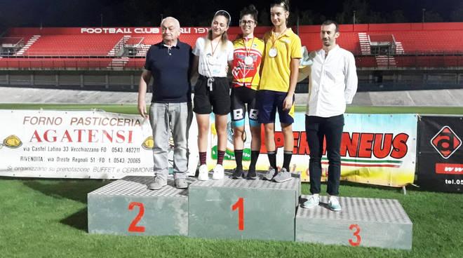 Martina Sanfilippo sul podio