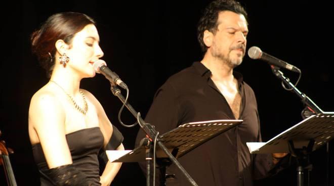 Mino Manni e Marta Ossoli