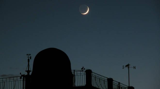 Osservatorio Alberoni luna