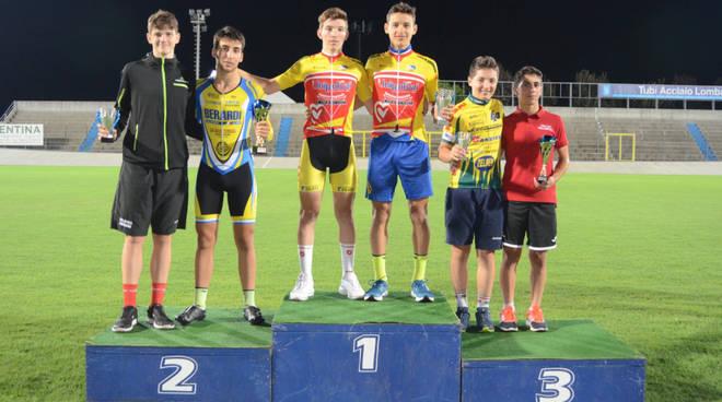 Premiazioni campionati regionali Omnium