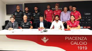 Presentazione Piacenza Calcio 2019/2020