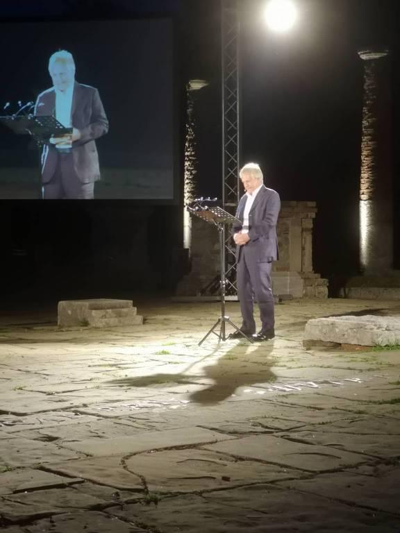 Scarpati e Barbero al Veleia Festival del Teatro Antico