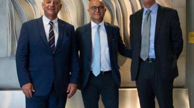 Giancarlo Tagliaferri, Fabio Callori e Michele Facci