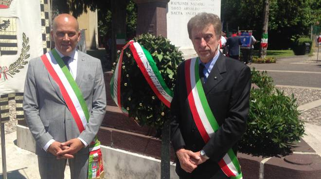 Sergio Pecorara alla commemorazione caduti della battaglia di Solferino