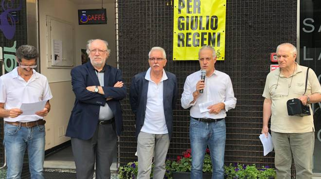 "Amnesty International e Cgil Piacenza ""Verità per Giulio Regeni"""