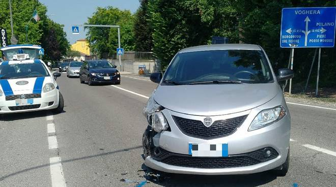 Incidente in prossimità di Castel San Giovanni