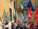 Presidio unitario sindacati Trasporti in Prefettura a Piacenza