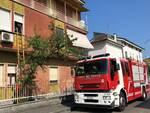 118 e vigili del fuoco alla ricerca di anziano in via leonardo