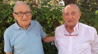 Adolfo Podestà (a sinistra)