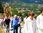 Bramaiano, la processione con la statua dell'Assunta
