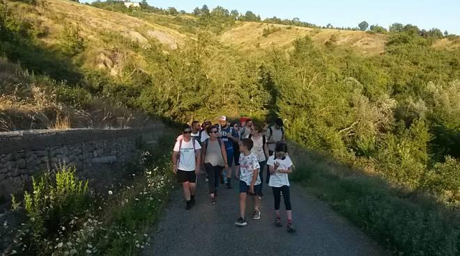 Camminata Sentiero del Tidone