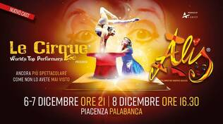 Alis - Le Cirque WTP a PIACENZA 6/7/8 Dicembre 2019
