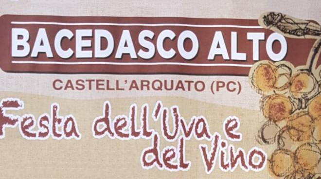 A Bacedasco Alto Uva e Vino in Festa