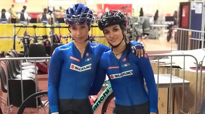 Collinelli e Gasparrini in maglia azzurra