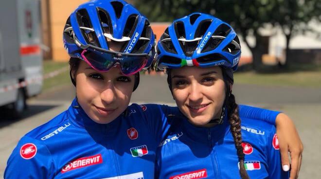 Gasparrini e Collinelli in maglia azzurra
