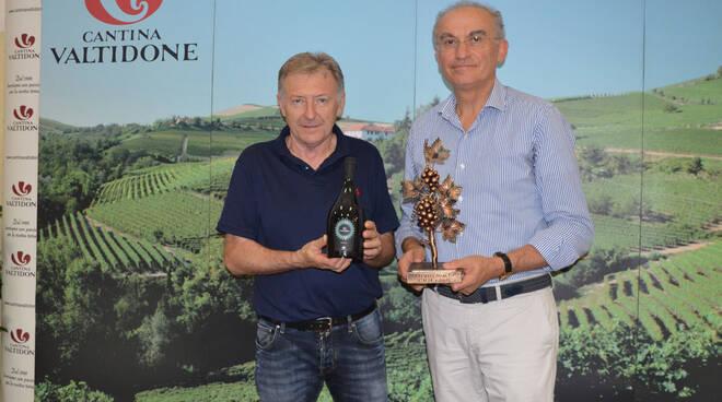 Il Premio a Cantina Valtidone