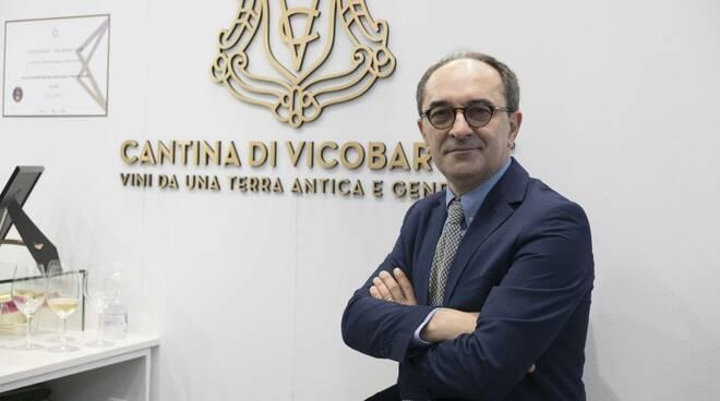 Il Presidente di Cantina Vicobarone Giuseppe Gaddilastri