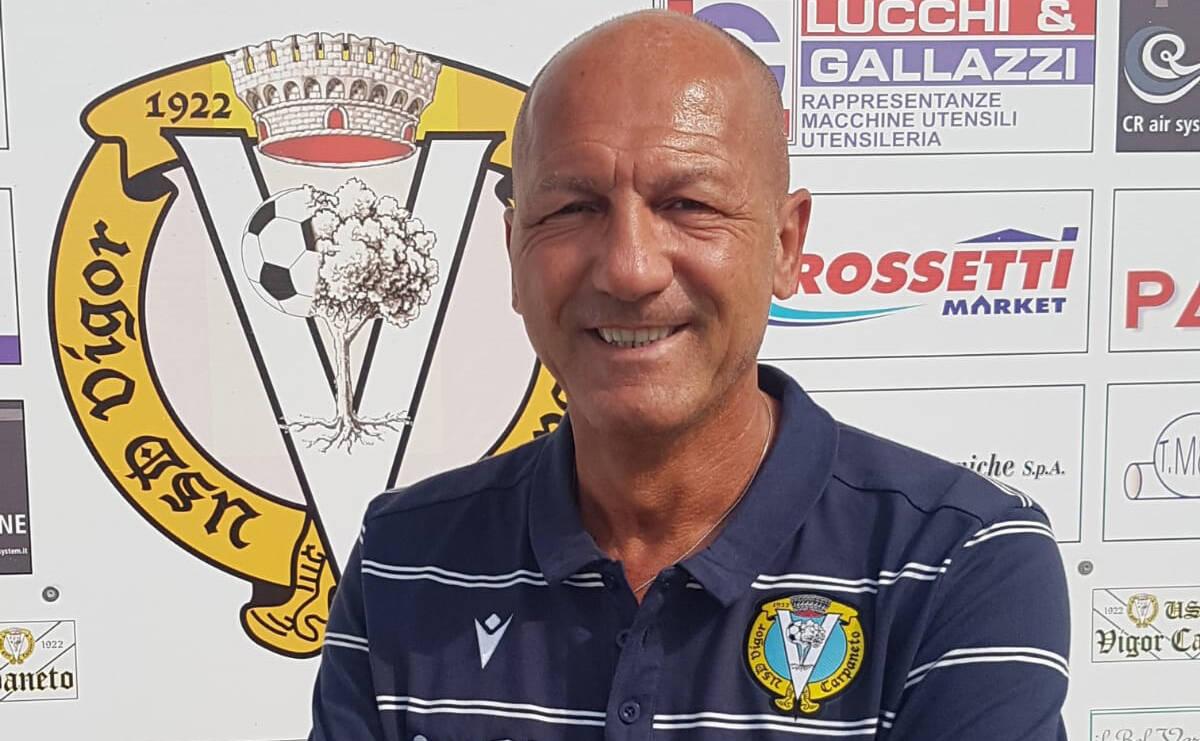Il team manager della Vigor Carpaneto Renato Grella