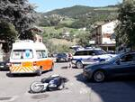 Incidente scooter a Bobbio