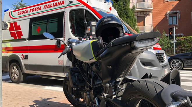 L'incidente in via Veneto