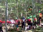 L'intervento del Soccorso Alpino in Alta Valnure