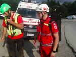 L'intervento di soccorso per l'escursionista ferito