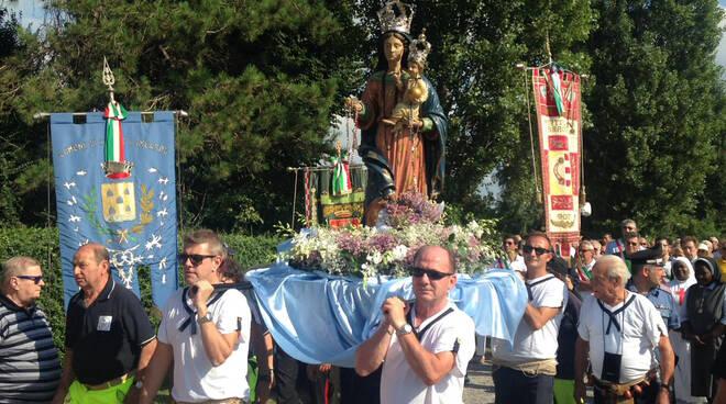 La processione dell'Assunta a Cremona