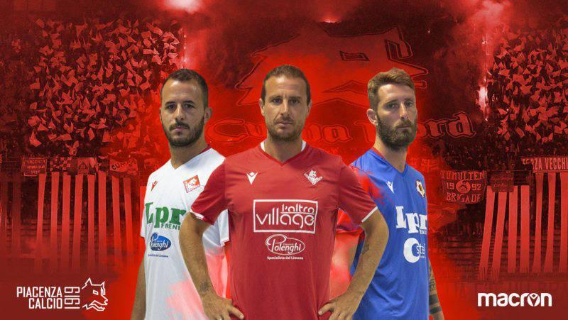 Nuove maglie Piacenza Calcio