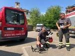 ricerche droni vigili del fuoco