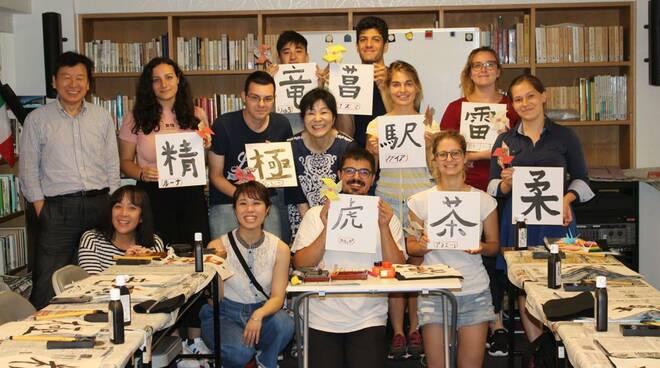 Studentessa del Liceo Gioia in Giappone