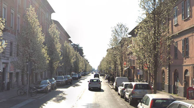 Via Colombo a Piacenza