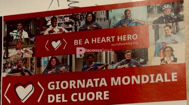 Giornata mondiale del cuore - Domenica 29 - Castel San Giovanni c\'è
