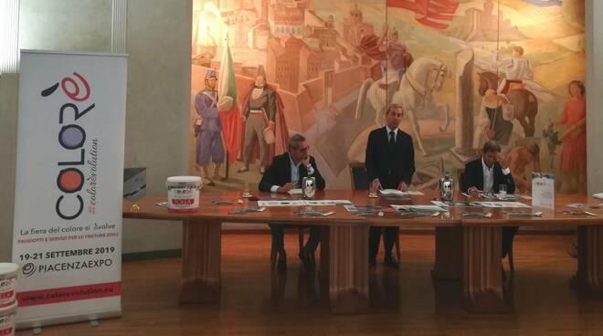 conferenza stampa di presentazione COLORè