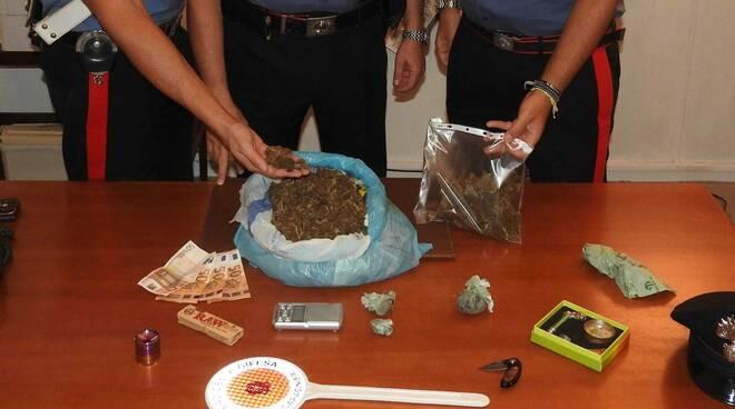 droga sequestrata in via Iv Novembre