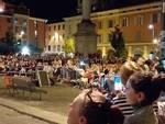 Fontane danzanti in piazza Duomo