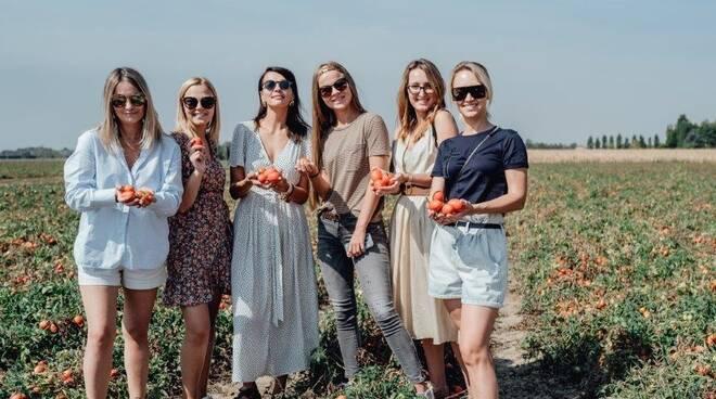 Food Blogger Russe in visita al Consorzio Casalasco del Pomodoro
